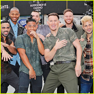 Channing Tatum & 'Magic Mike Live' Dancers Take Over London!