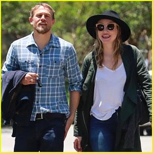 Charlie Hunnam & Morgana McNelis Look So Happy in New Photos!