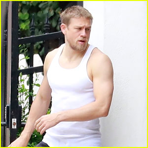 Charlie Hunnam Shows Off Toned Muscles in a Tank Top
