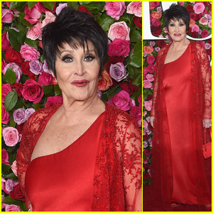 Lifetime Achievement Award Honoree Chita Rivera Hits the Red Carpet at Tony Awards 2018!