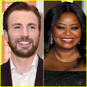 Chris Evans Can't Help But Joke Around with Octavia Spencer Over Her Birthday Message to Him!