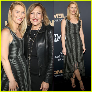 Claire Danes Shows Off Her Baby Bump at 'Homeland' Event