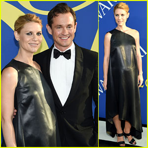 Pregnant Claire Danes & Hubby Hugh Dancy Dress Up for CFDA Awards 2018!