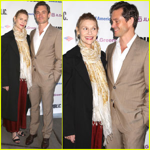 Claire Danes & Hugh Dancy Couple Up at Public Theater's Annual Gala