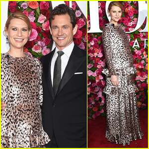 Pregnant Claire Danes & Husband Hugh Dancy Step Out for Tony Awards 2018!