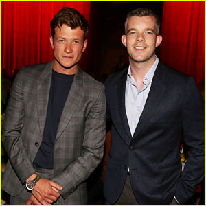 Quantico's Russell Tovey Hangs Out with Ed Speleers in Paris