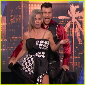 Couple Changes Outfits at Lightning Speed on 'America's Got Talent' - Watch Now!