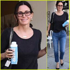 Courteney Cox Goes for Some Pampering in Beverly Hills Amid Wedding Rumors!