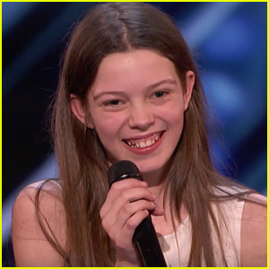 13-Year-Old Courtney Hadwin Gets Golden Buzzer on 'America's Got Talent' - WATCH!
