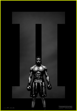 Michael B. Jordan Bares His Abs for 'Creed II' Poster!