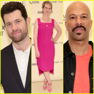 Cynthia Nixon, Billy Eichner, & Common Step Out for Teen Vogue Summit in NYC