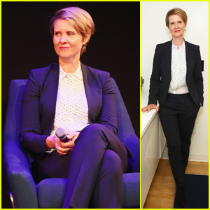 Cynthia Nixon Addresses the LGBTQ Community During Pride Place Event in NYC