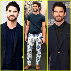 Darren Criss Is Having Fun with His Fashion in Europe!