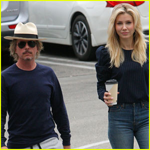 David Spade Steps Out with Mystery Blonde Woman