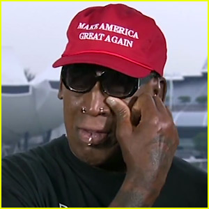 Dennis Rodman Tears Up While Discussing Trump's Meeting with Kim Jong-un