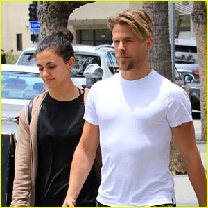 Derek Hough & Girlfriend Hayley Erbert Spend a Relaxing Weekend Together!
