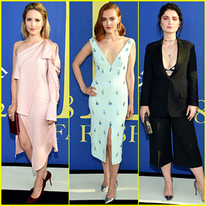 Dianna Agron, Madeline Brewer, & Eve Hewson Look Chic at CFDA Fashion Awards 2018