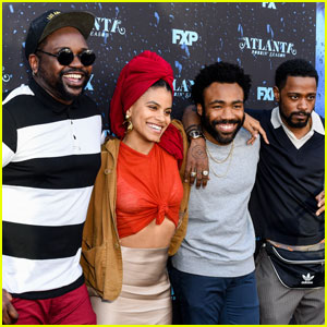Donald Glover & 'Atlanta' Cast Reunite After Renewal News!