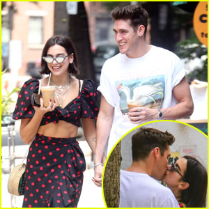 Dua Lipa & Boyfriend Isaac Carew Pack on PDA in New York City!