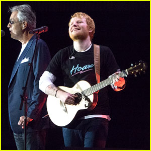 Ed Sheeran & Andrea Bocelli Perform 'Perfect' Live for the First Time!