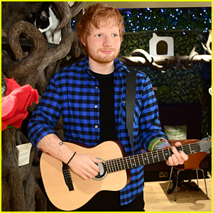 Ed Sheeran Gets a Wax Figure at a Cat Cafe in London!