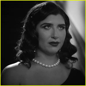 Emily Warren Goes Film Noir for 'Paranoid' Music Video!