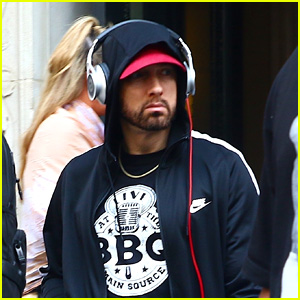 Eminem Steps Out Ahead of Governors Ball Music Festival 2018 Headlining Performance in NYC!