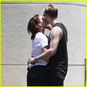 Emma Watson & Chord Overstreet Kiss & Flaunt PDA in New Photos!