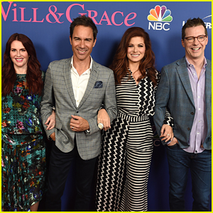 Eric McCormack & Debra Messing Step Out for 'Will & Grace' Emmy FYC Event!