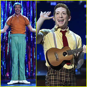 Broadway's 'SpongeBob' Stars Ethan Slater & Gavin Lee Perform at Tony Awards 2018!