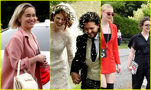 Kit Harington Wedding.Here S Every Game Of Thrones Star At Kit Harington Rose Leslie S