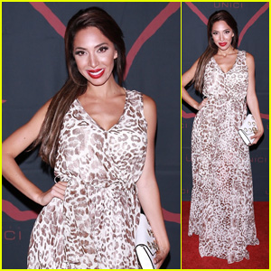 Farrah Abraham Attends Society Unici Event in Los Angeles
