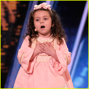 Five-Year-Old Sophie Sings Frank Sinatra in Adorable 'AGT' Audition - Watch!