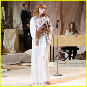 Florence + The Machine Perform 'Hunger' on 'Late Show' - Watch Here!