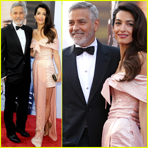 George Clooney is Supported by Wife Amal at His AFI Tribute!