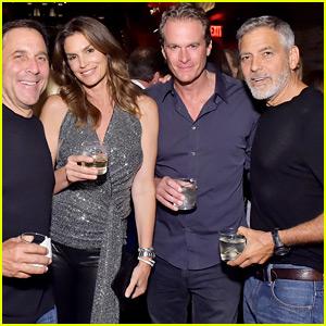 George Clooney & Rande Gerber Host a Casamigos Dinner for Friends!