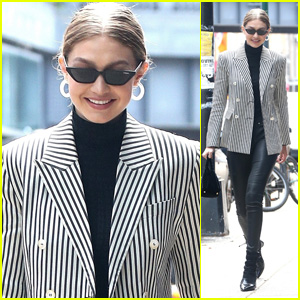 Gigi Hadid Is Business Chic for a Day Out in NYC!