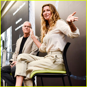 Gisele Bundchen Supports Sustainable Fashion at Omina2018