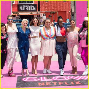 'Glow' Cast Celebrates Season 2 With 80's Takeover of Venice Beach!