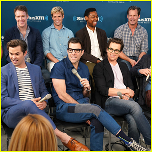 The Guys of 'Boys in the Band' Promote Their Broadway Play on Andy Cohen's Radio Show!