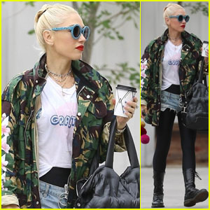 Gwen Stefani Heads to Rehearsals for Her Las Vegas Residency!