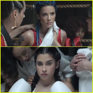 Halsey & Lauren Jauregui Get in the Ring for 'Strangers' Music Video - Watch Now!