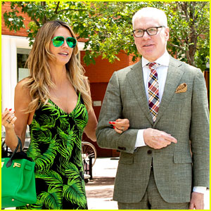 Heidi Klum Reunites with Tim Gunn in New York City!