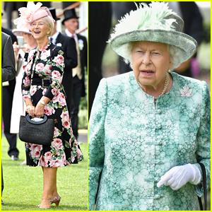 Helen Mirren Joins Queen Elizabeth at Day Five of Royal Ascot 2018