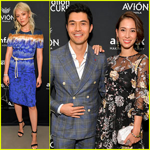 Crazy Rich Asians' Henry Golding Has a Date Night at amfAR's Summer Solstice Event!