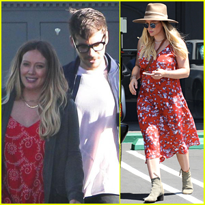 Hilary Duff & Matthew Koma Step Out After Announcing Pregnancy!