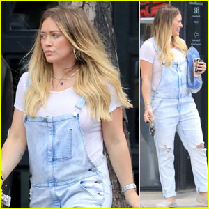 Pregnant Hilary Duff Steps Out After Getting in a Boxing Workout!
