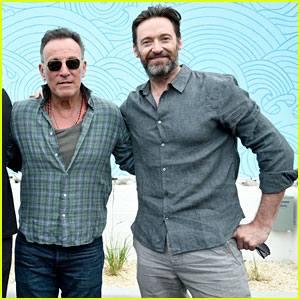 Hugh Jackman & Bruce Springsteen Team Up for Grand Re-Opening of Asbury Lanes