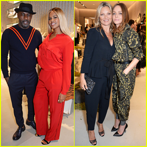 Idris Elba & Fiancee Sabrina Dhowre Couple Up for Stella McCartney Store Opening!