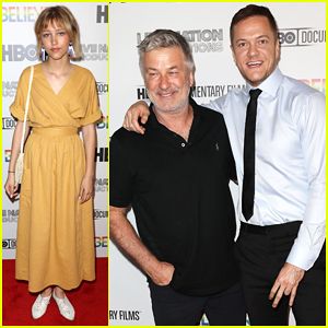 Imagine Dragons' Dan Reynolds Gets Support from Alec Baldwin & More at 'Believer' New York Premiere!